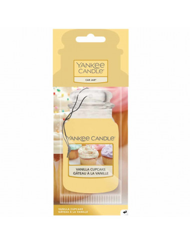 Vanilla Cupcake deodorante auto car jar