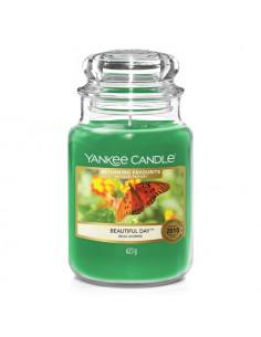 YANKEE CANDLE candela profumata giara piccola Turquoise Sky durata 40 ore