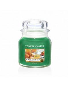 YANKEE CANDLE candela profumata giara grande Delicious Guava durata 150 ore