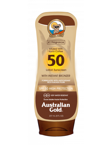 Lozione solare Kona Coffee spf 50